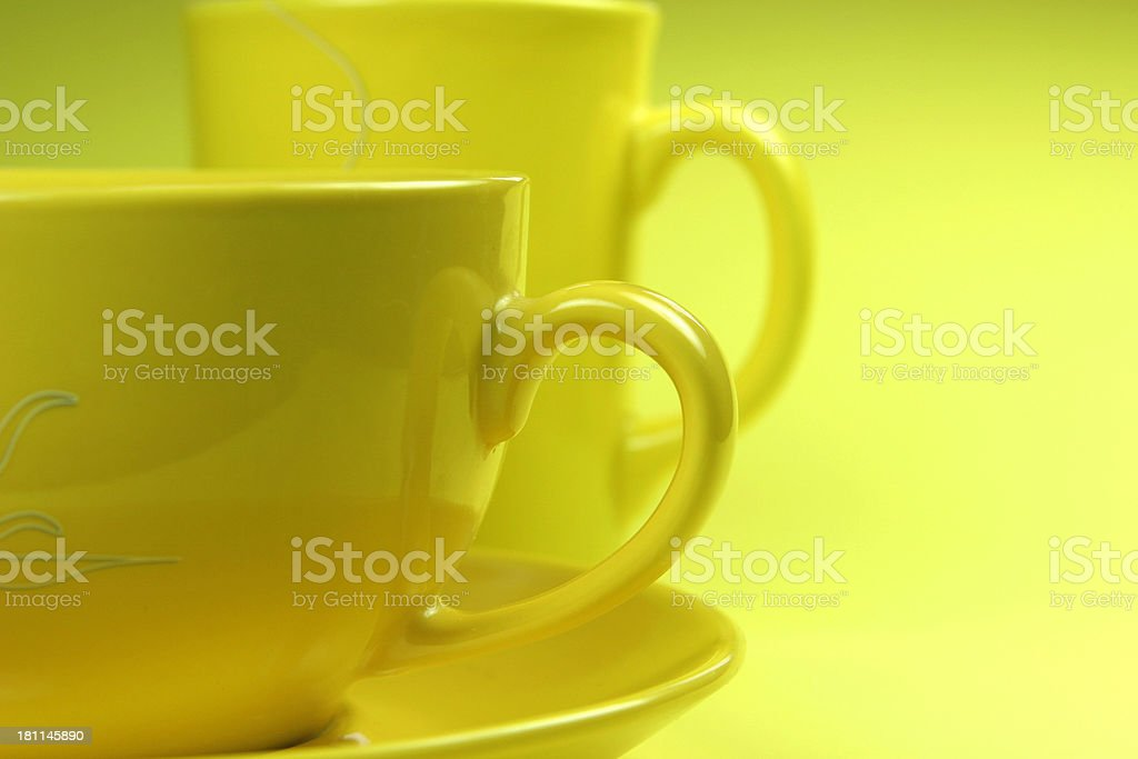 two cups together royalty-free stock photo