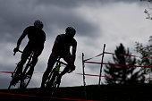 Two Cyclo-Cross Racers