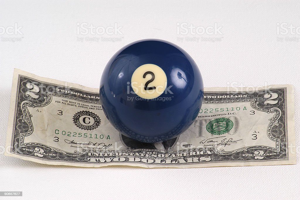 Two Dollar Ball stock photo