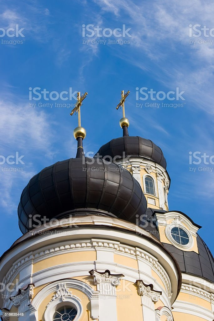 Two domes stock photo