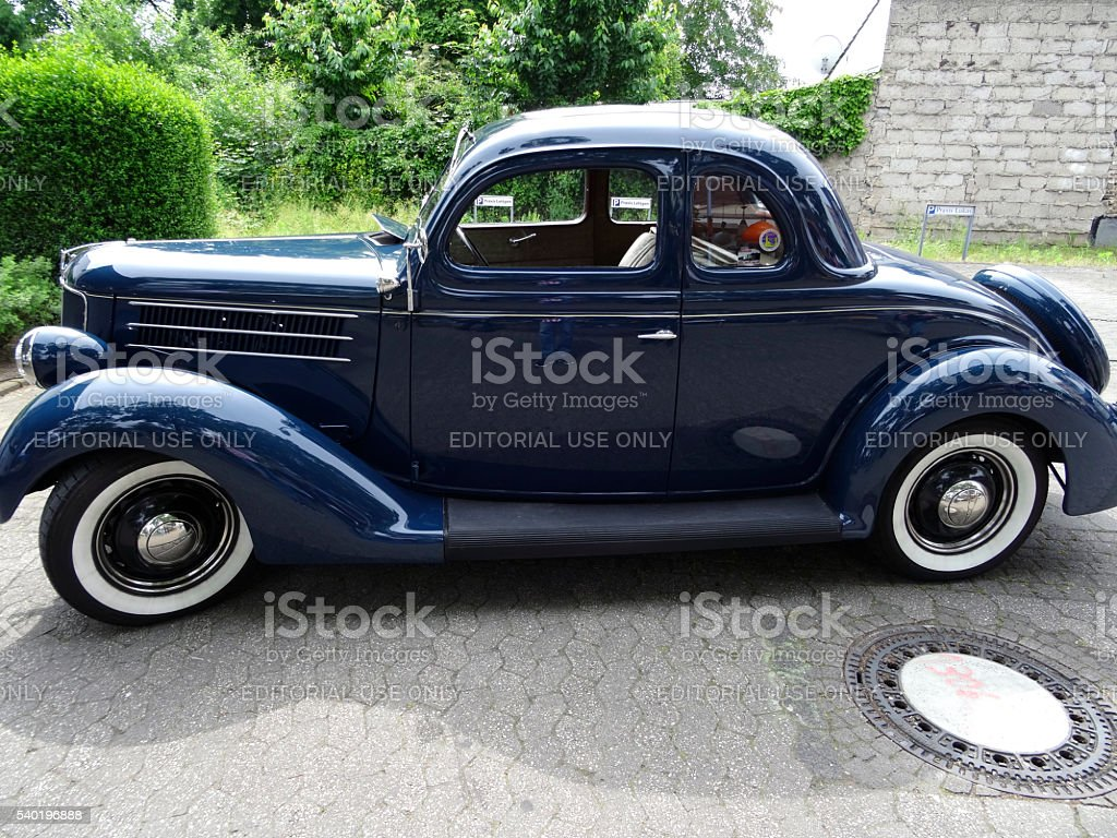 Two doors Ford stock photo