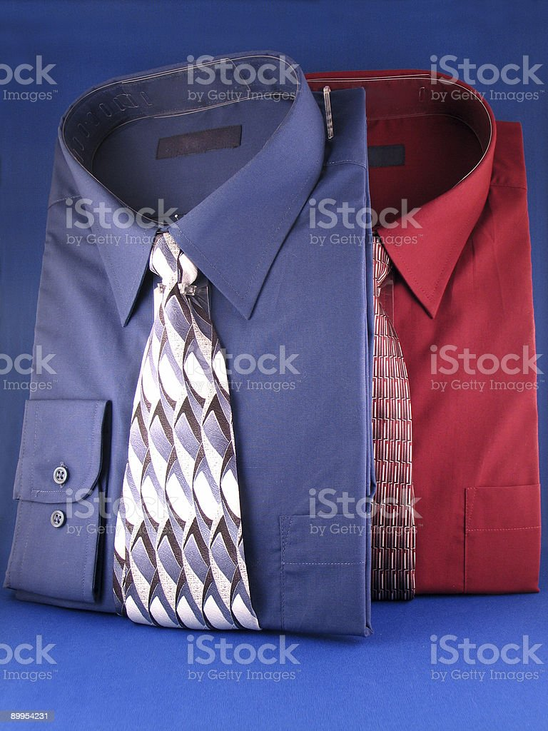 Two Dress Shirts royalty-free stock photo