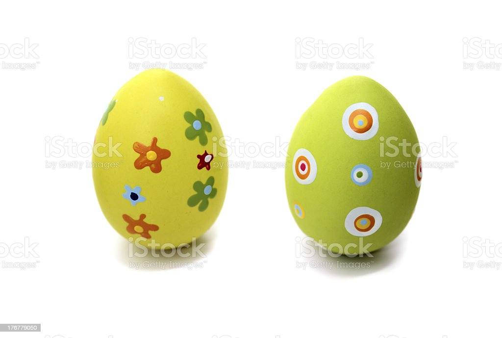 Two Easter time stock photo