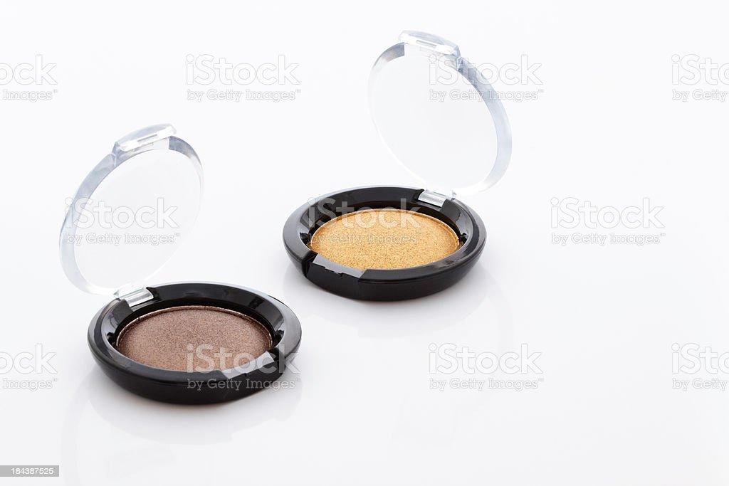 Two eyeshadow palettes royalty-free stock photo