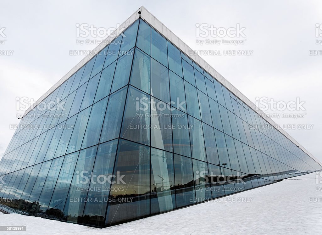 Two Faces of Oslo royalty-free stock photo
