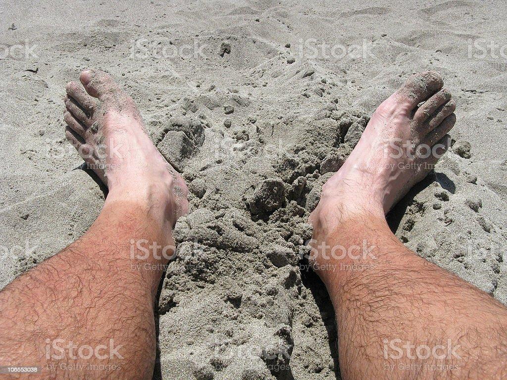 Two Feet royalty-free stock photo