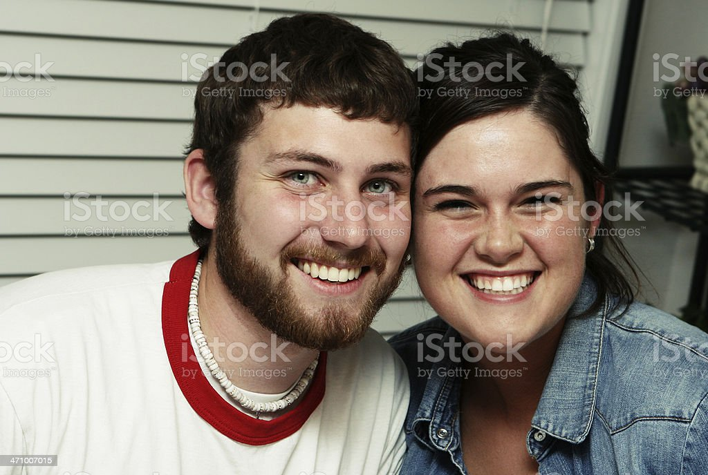 Two Friends Hanging Out royalty-free stock photo