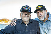 Two Generation Family USA Military War Veterans