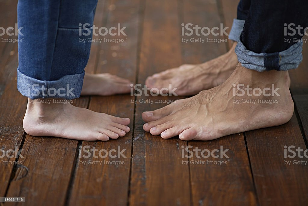 Two generations royalty-free stock photo