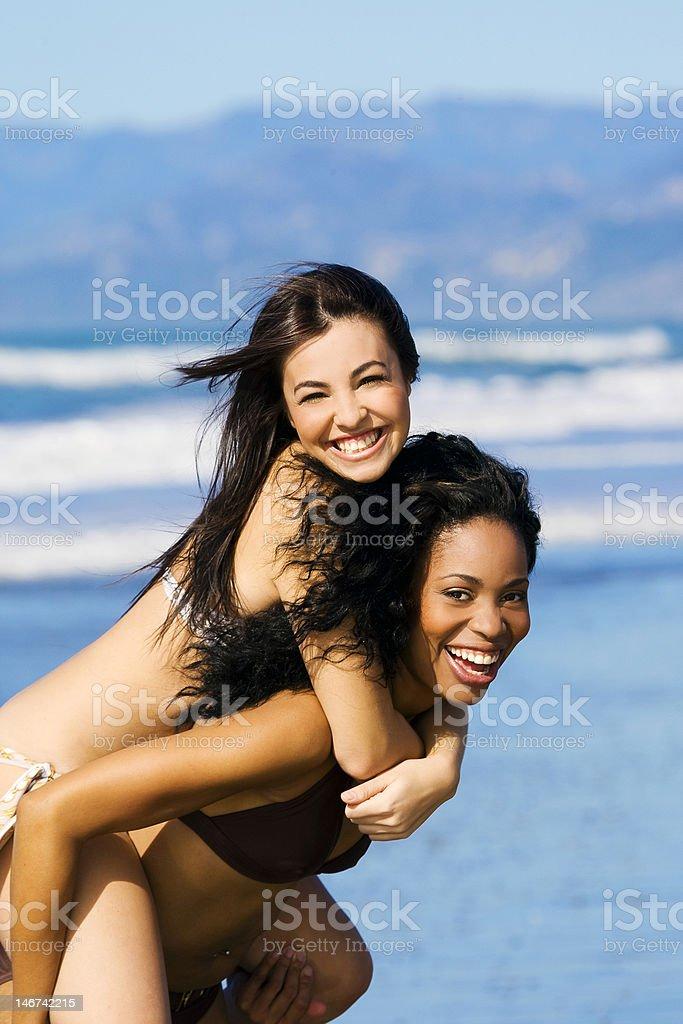 Dos novias de futbolistas foto de stock libre de derechos