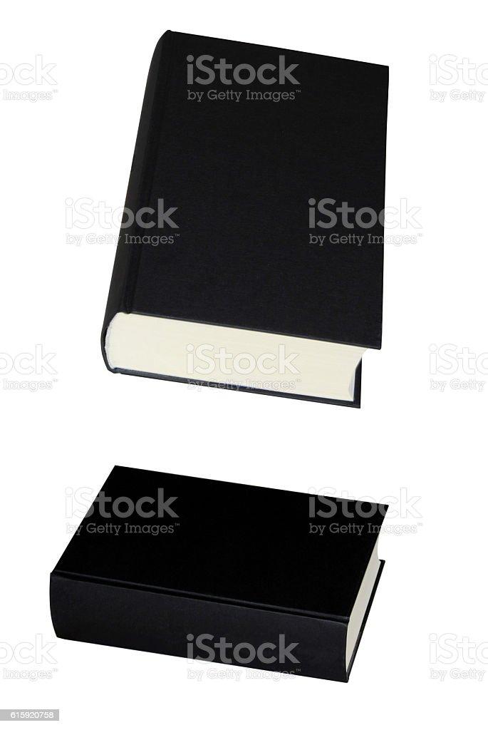 Two halloween Black Books stock photo