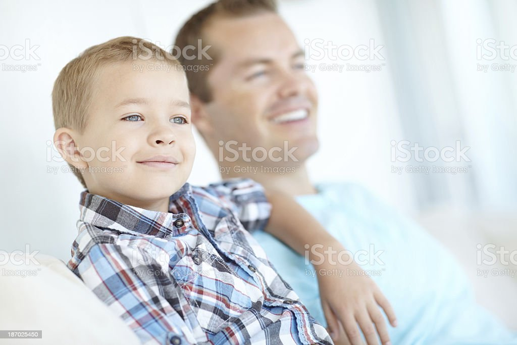 Two handsome boys royalty-free stock photo