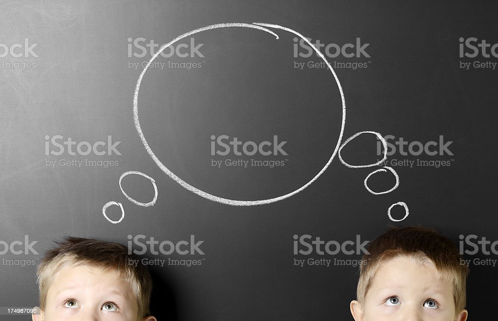 Two heads are better than one stock photo