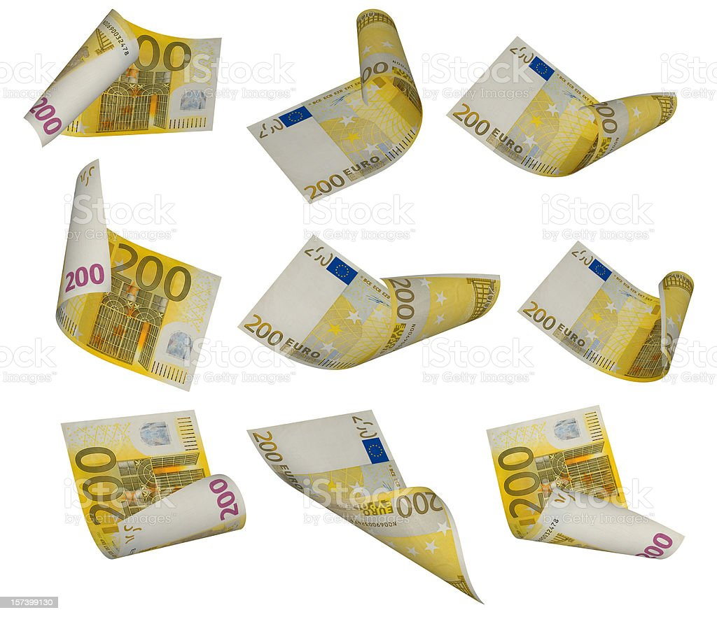 Two Hundred Euro Banknote royalty-free stock photo