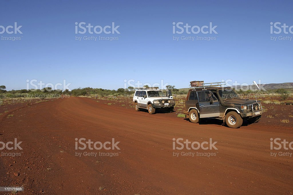 Two In the outback royalty-free stock photo