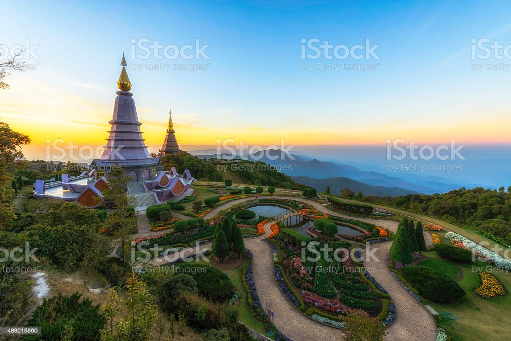 Doi Inthanon, Chiang Mai, Thailand royalty-free stock photo