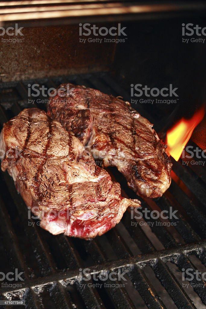 two juice steak royalty-free stock photo