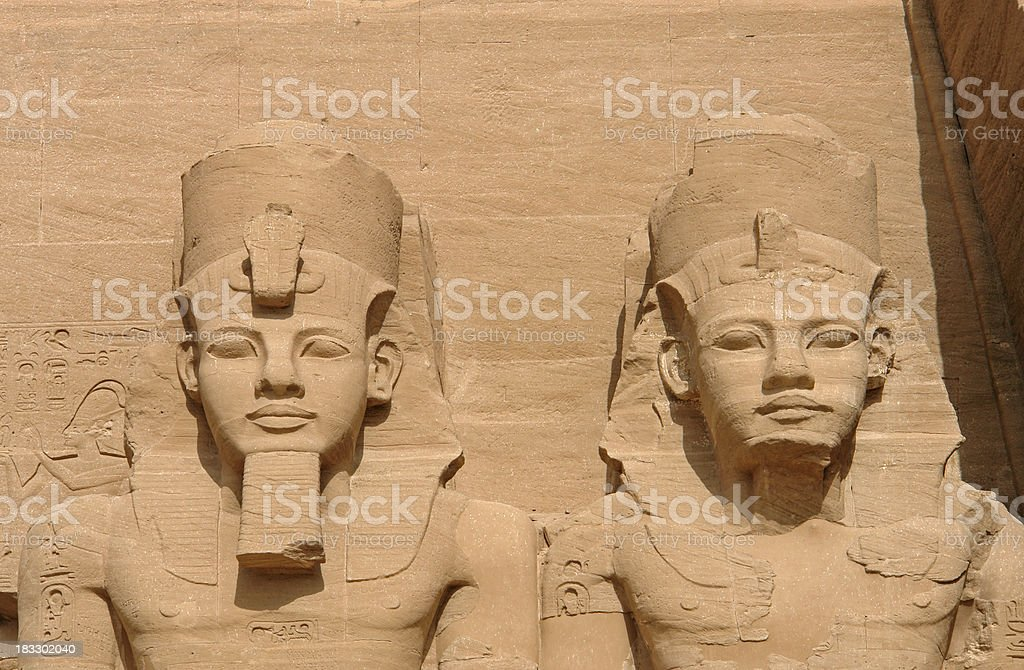 Two kings royalty-free stock photo