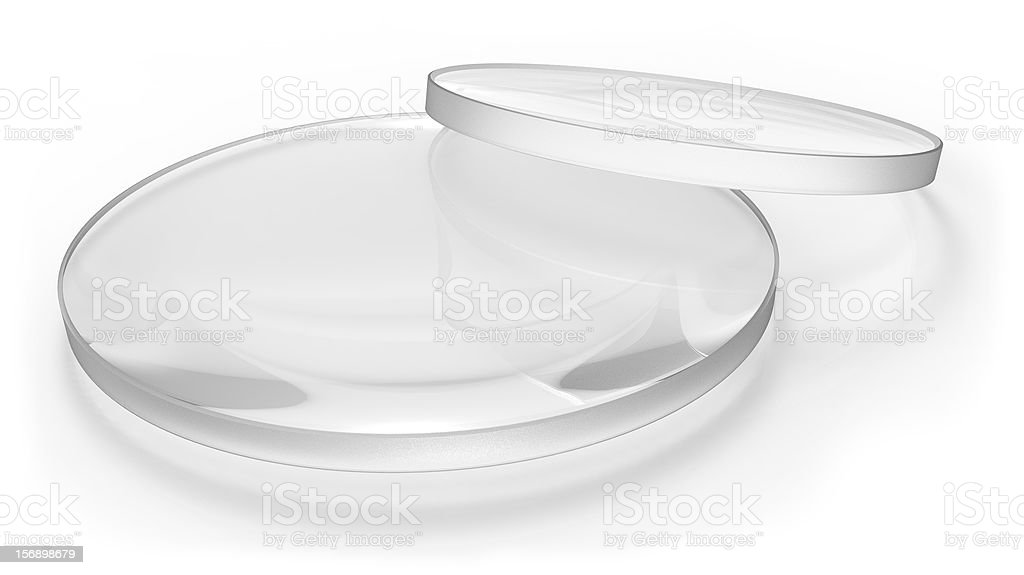 Two lens stock photo