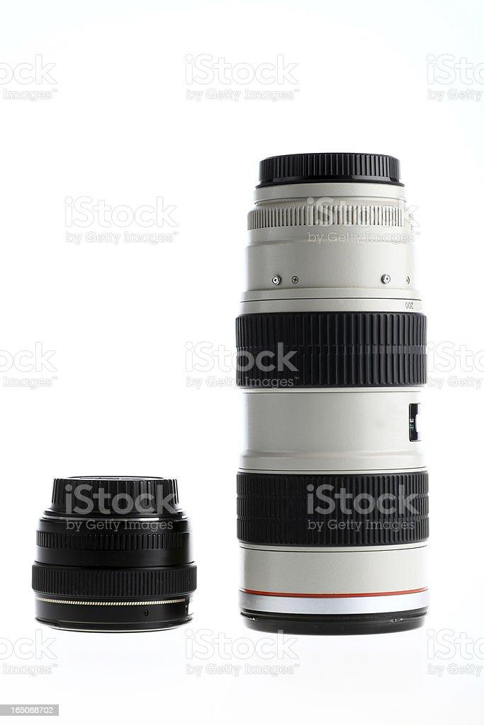 Two lenses royalty-free stock photo
