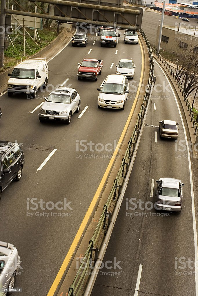 two levels highway royalty-free stock photo