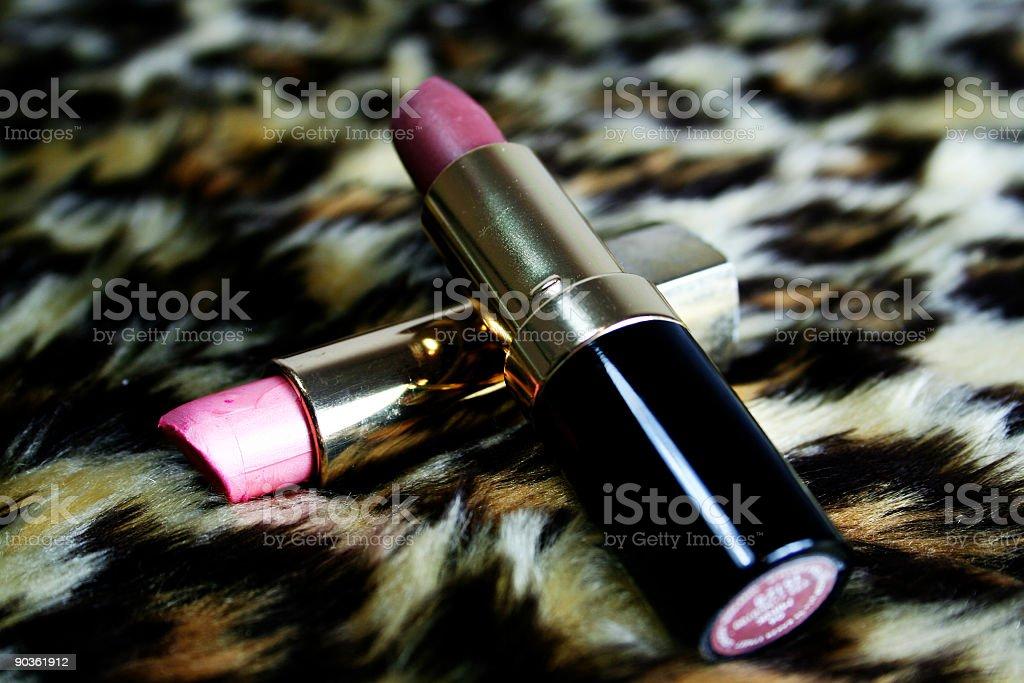 Two Lipsticks royalty-free stock photo