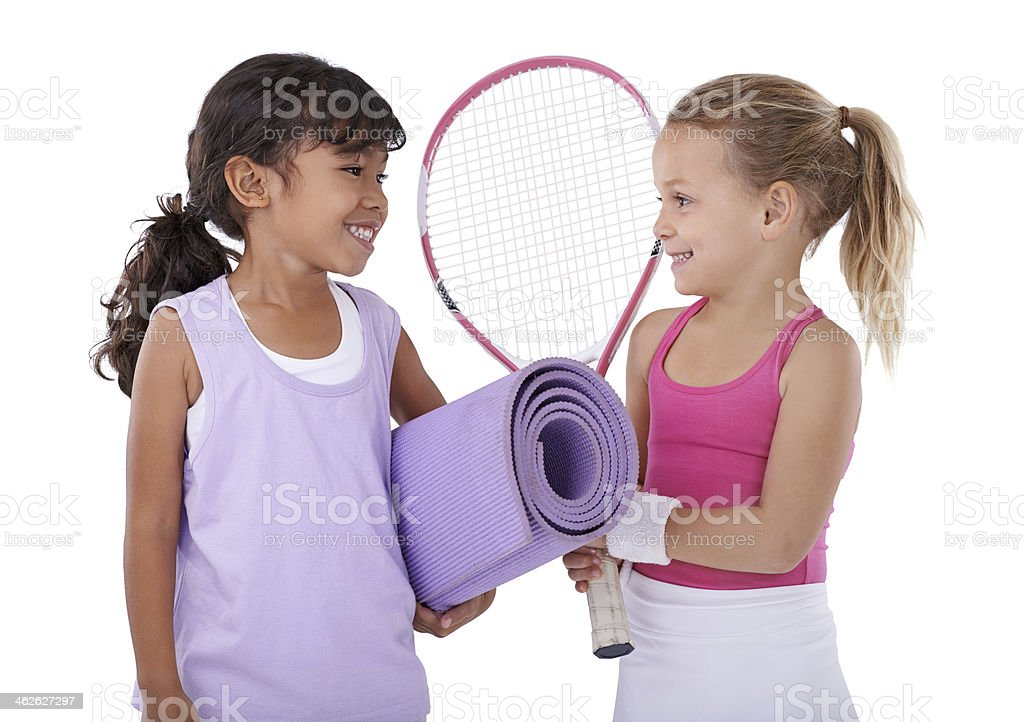 You ready for some exercise?! royalty-free stock photo