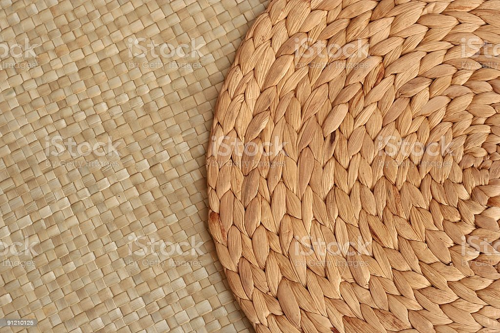 two mats stock photo