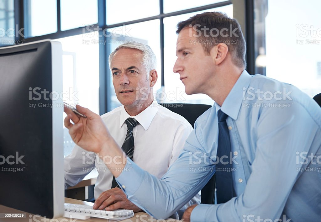 Two minds are better than one stock photo