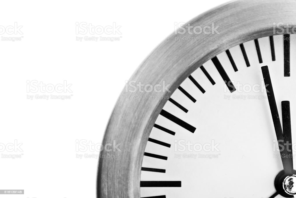 two minutes to midnight stock photo