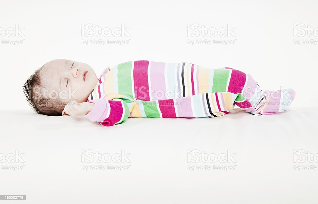 Two Month Old Baby royalty-free stock photo