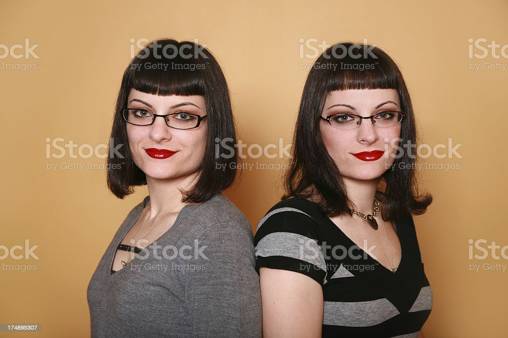 Two Of A Kind royalty-free stock photo