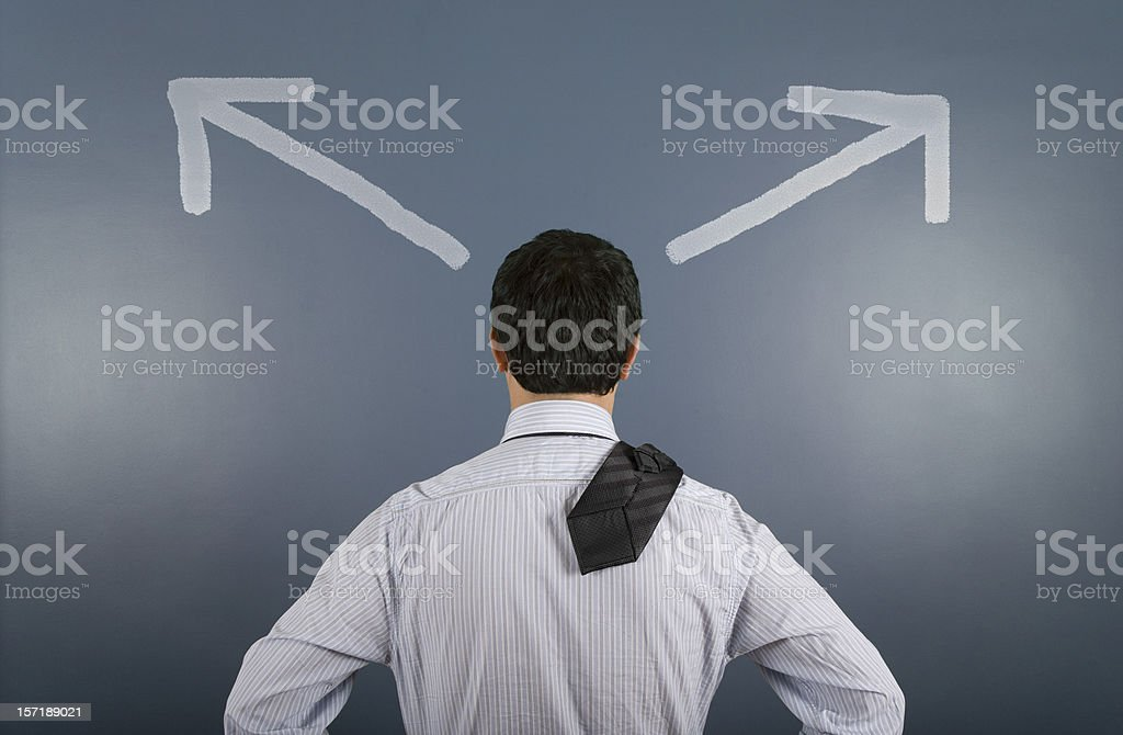 two option royalty-free stock photo
