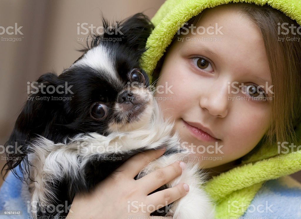 Two pairs beautiful eyes royalty-free stock photo