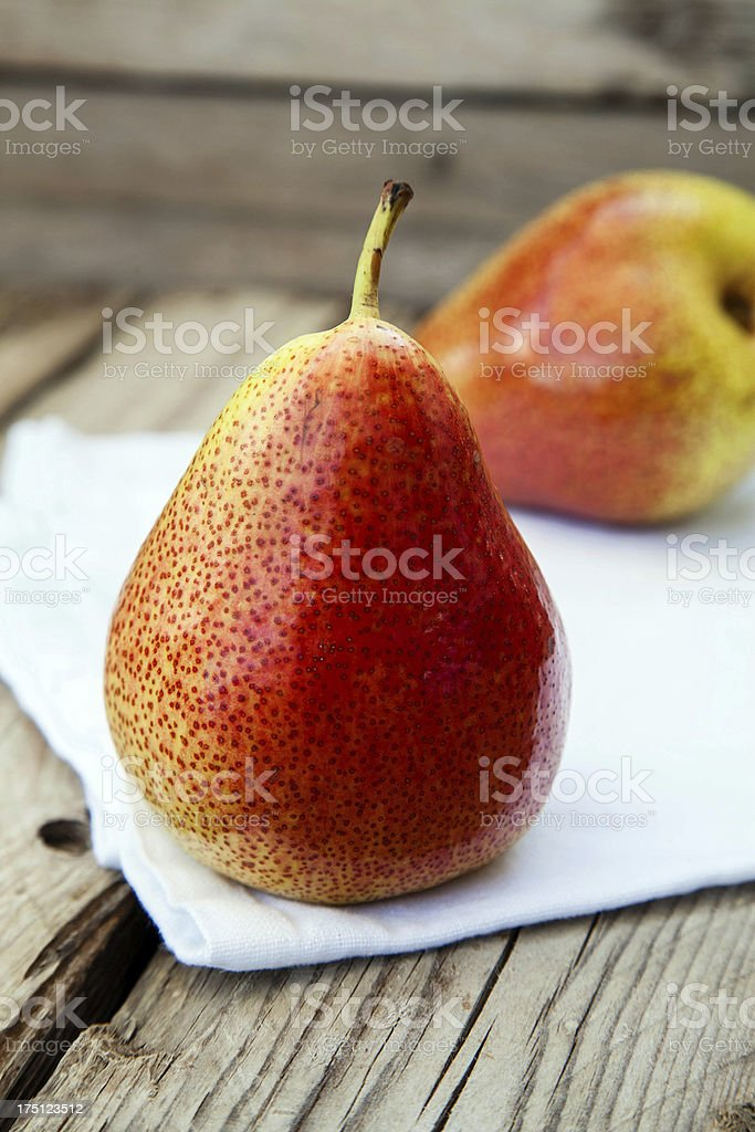 Two pears royalty-free stock photo