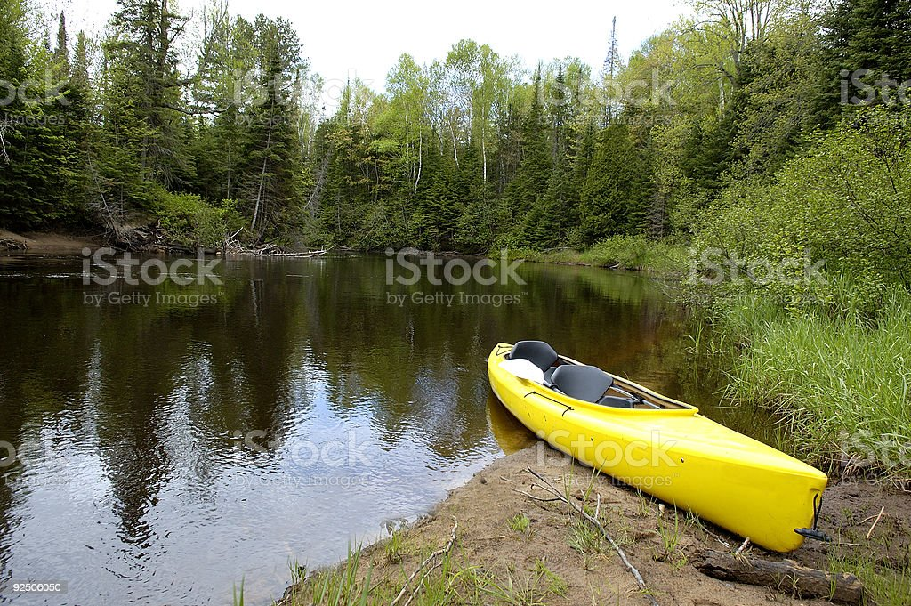 Two person Kayak royalty-free stock photo