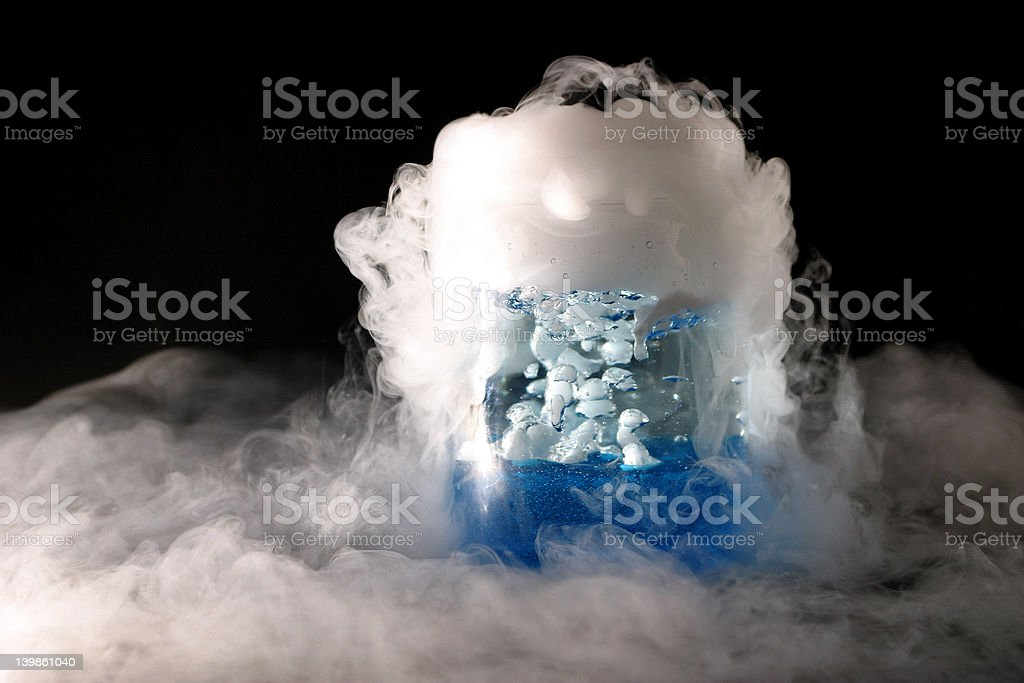 Two phase flow royalty-free stock photo