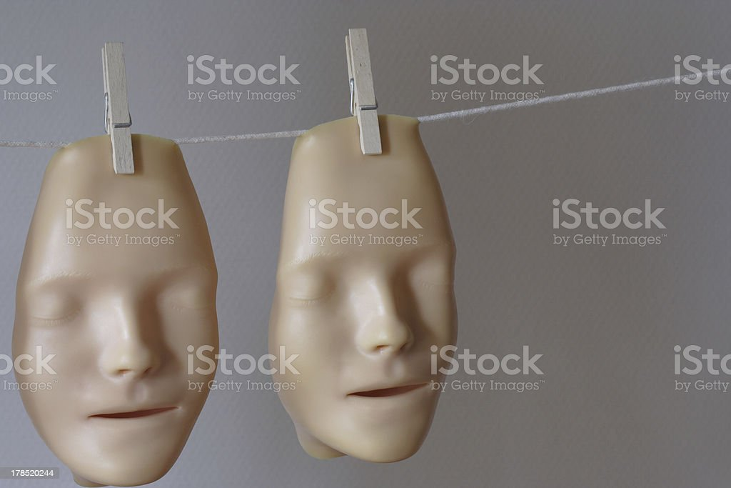 two royalty-free stock photo