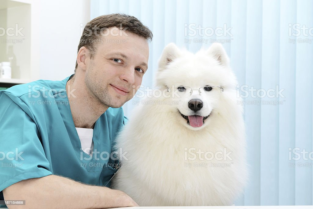 two professors royalty-free stock photo
