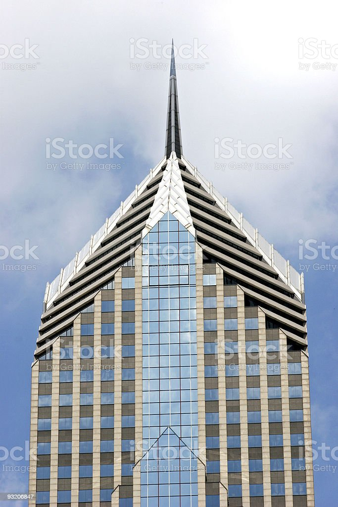 Two Prudential Plaza stock photo