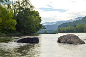 Two Rocks on the New River