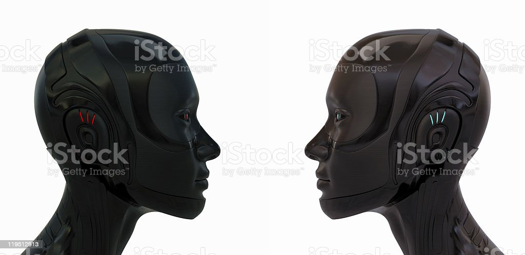 Two rubber woman royalty-free stock photo