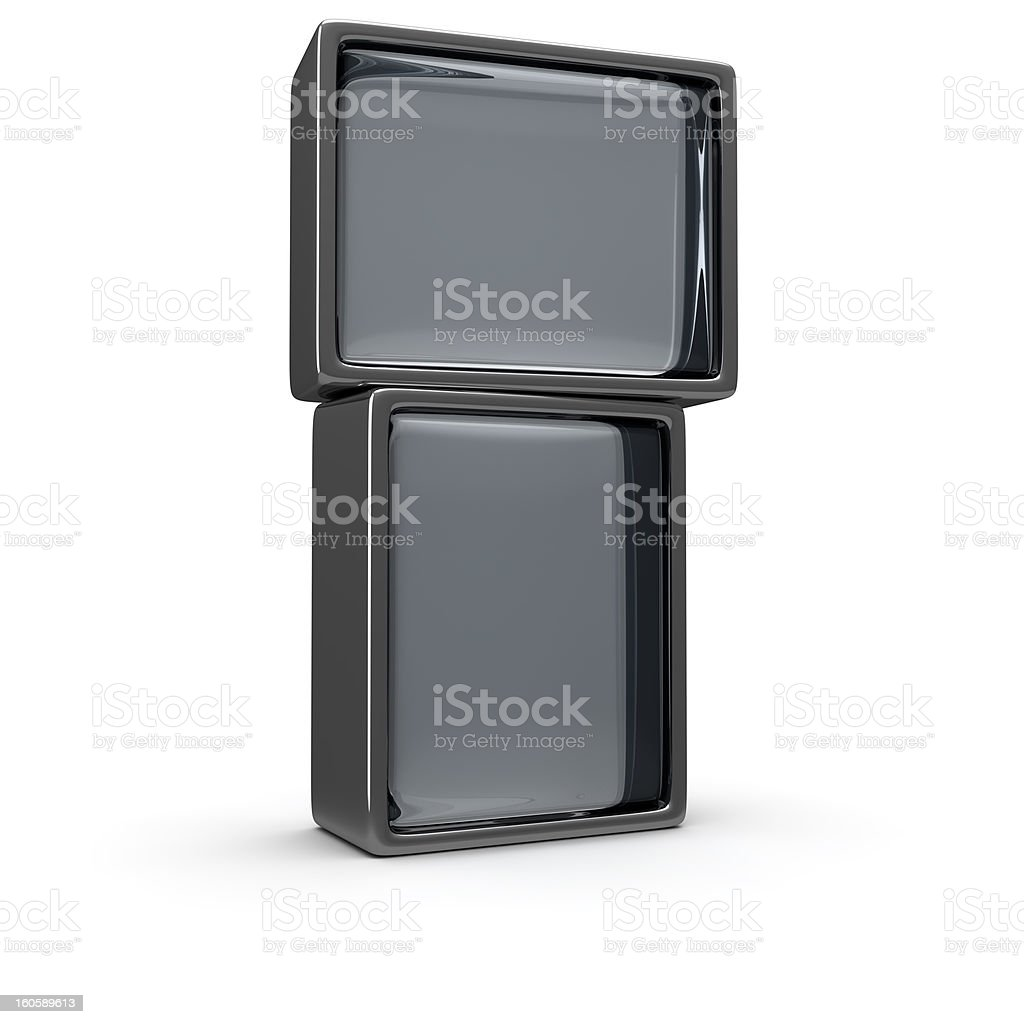 Two screens royalty-free stock photo