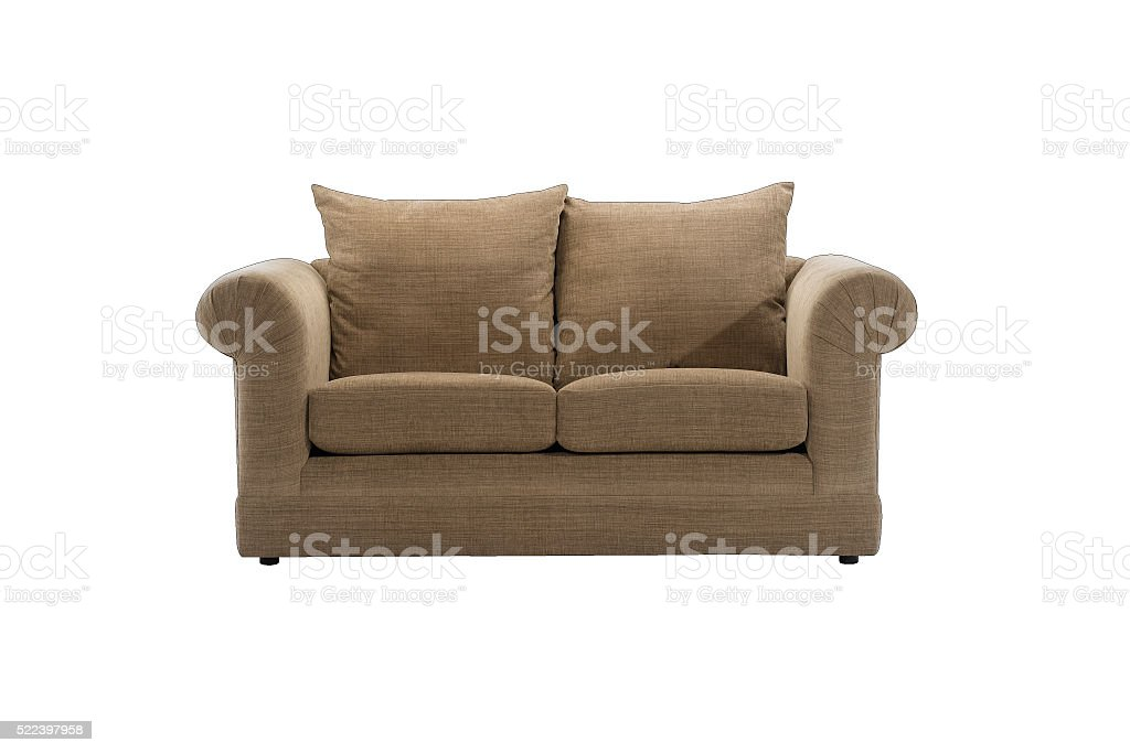 Two seated sofa stock photo