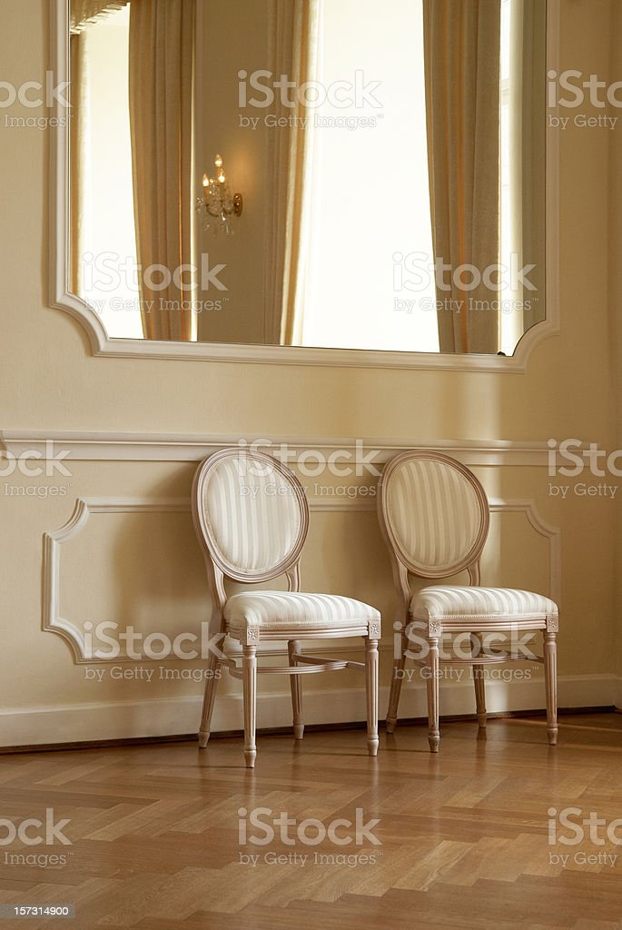 Two Seats royalty-free stock photo