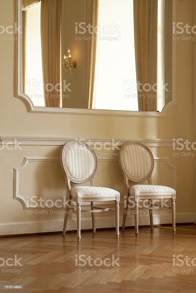 Two Seats stock photo