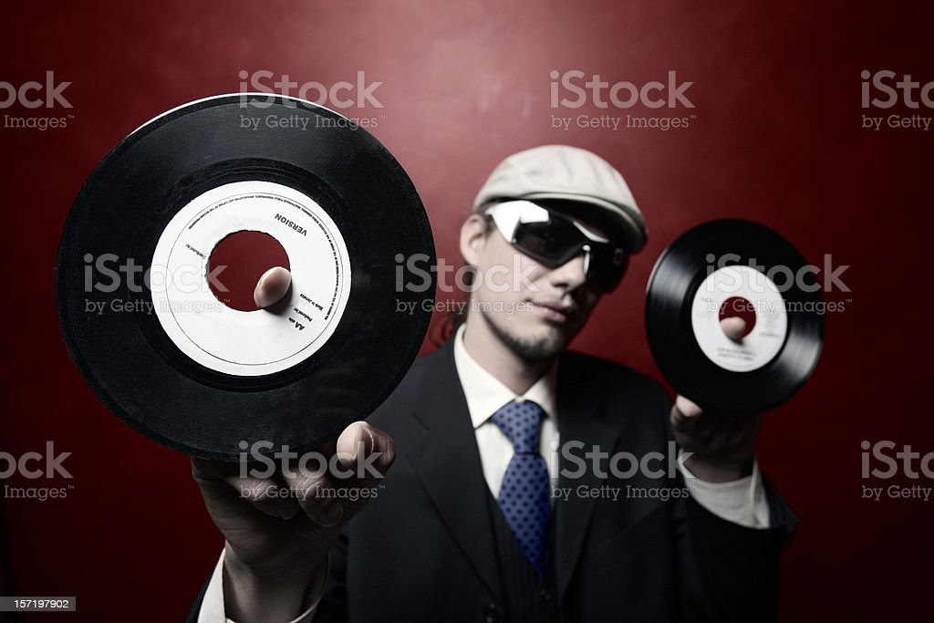 two seven inches royalty-free stock photo