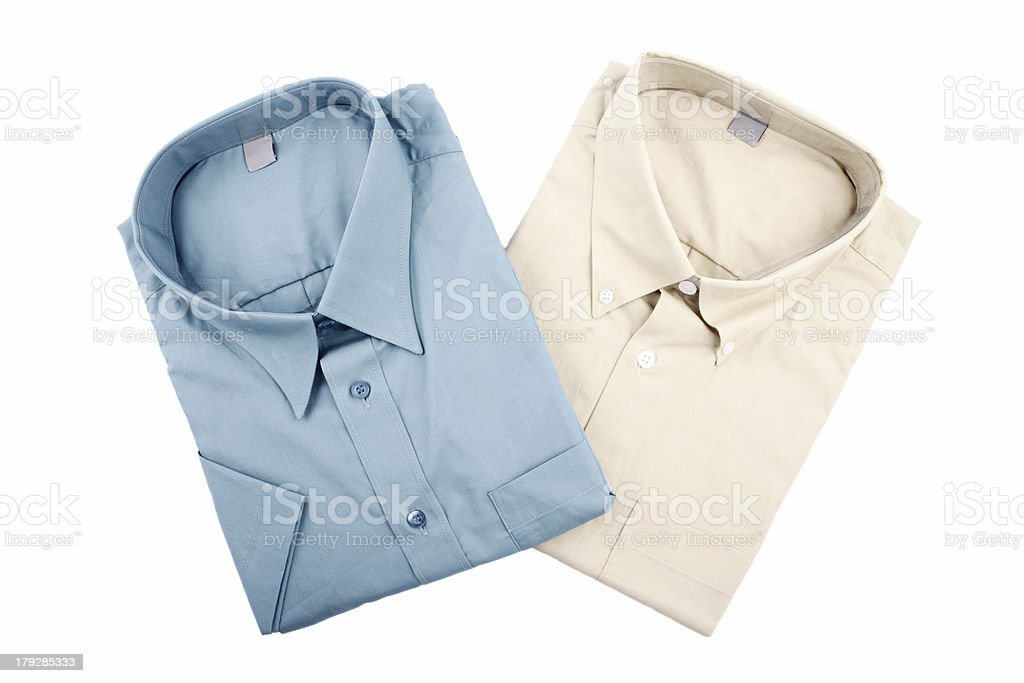 Two shirts royalty-free stock photo