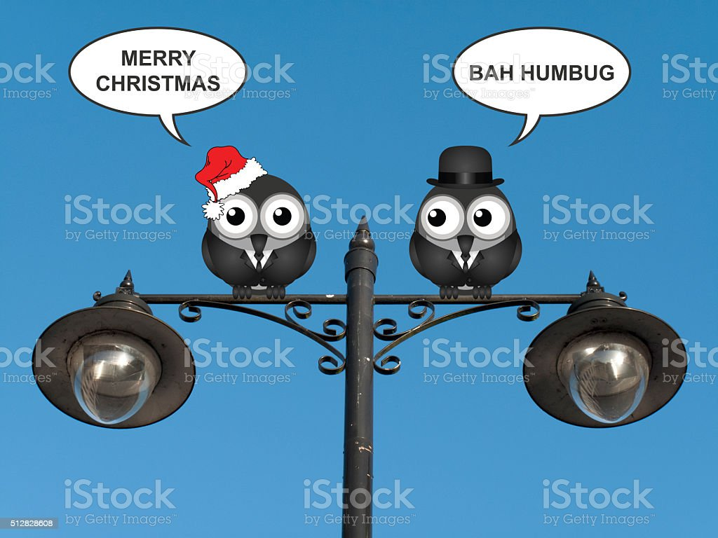 Two Sides of Christmas stock photo