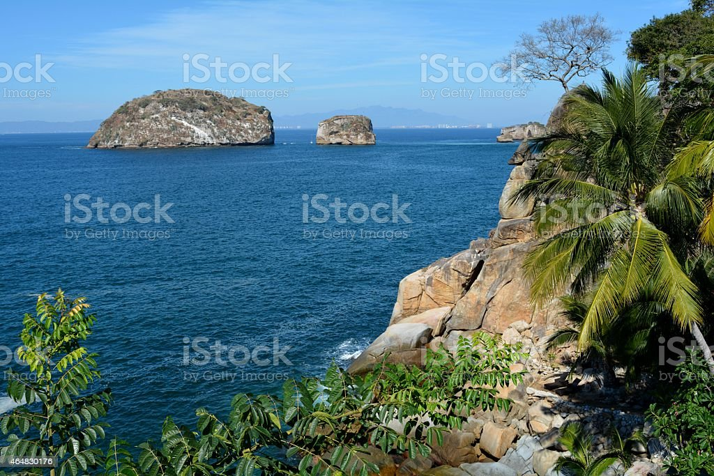 Two Small Islands stock photo